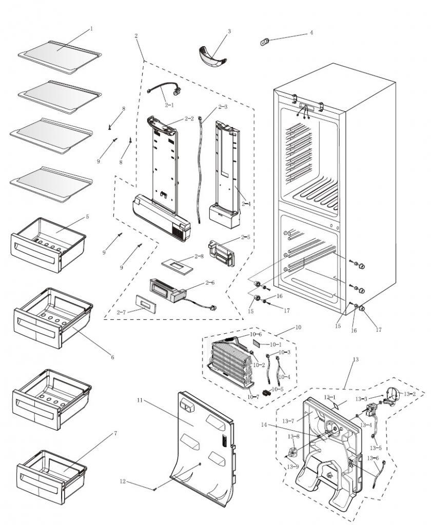 Frigor fico y congelador electroatl ntico - Frigorificos sin congelador ...