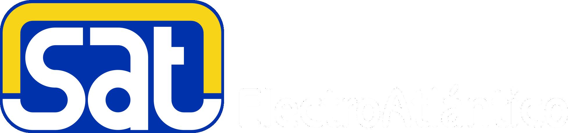 Logo Sat horizontal BLANCO